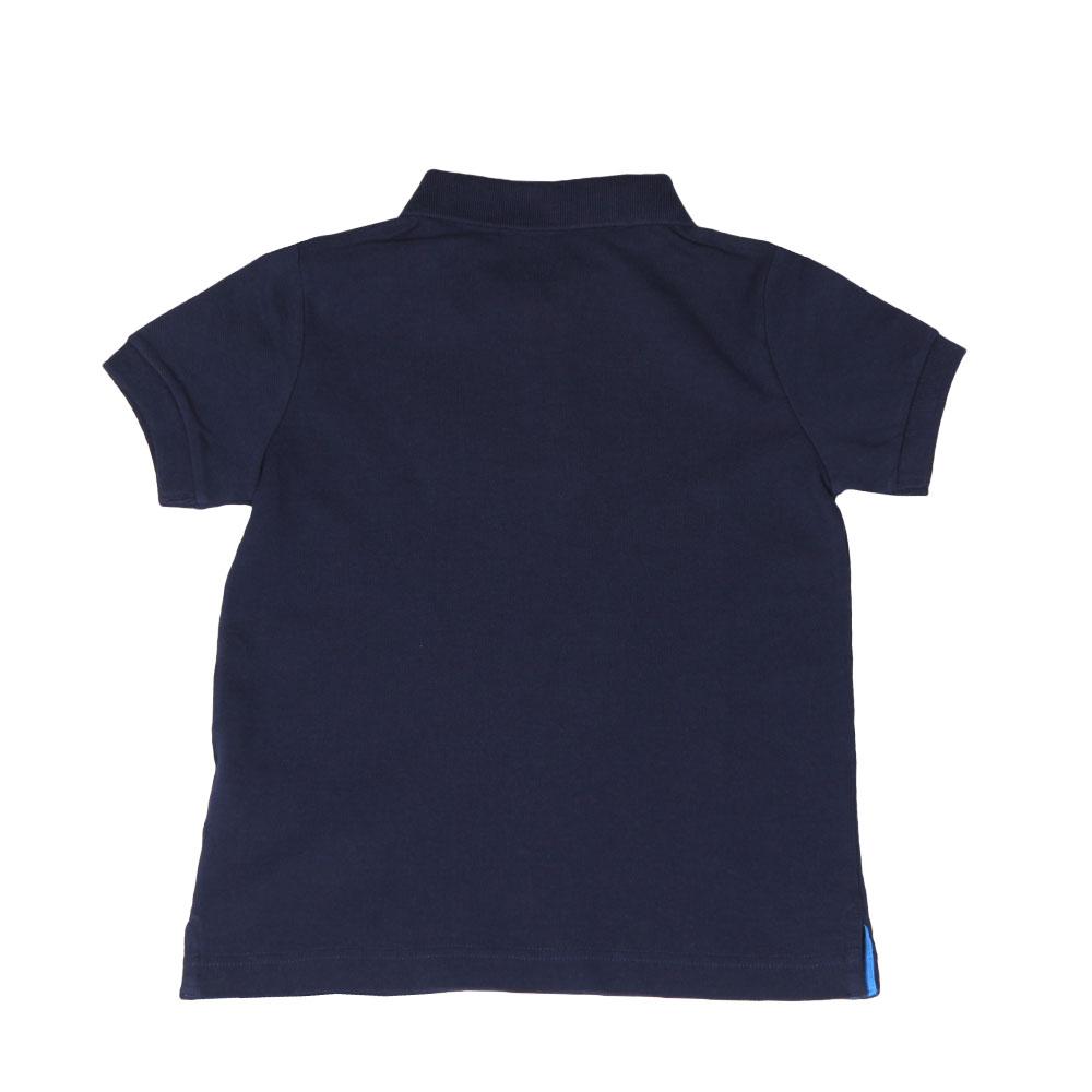 Boys Chest Print Polo Shirt main image