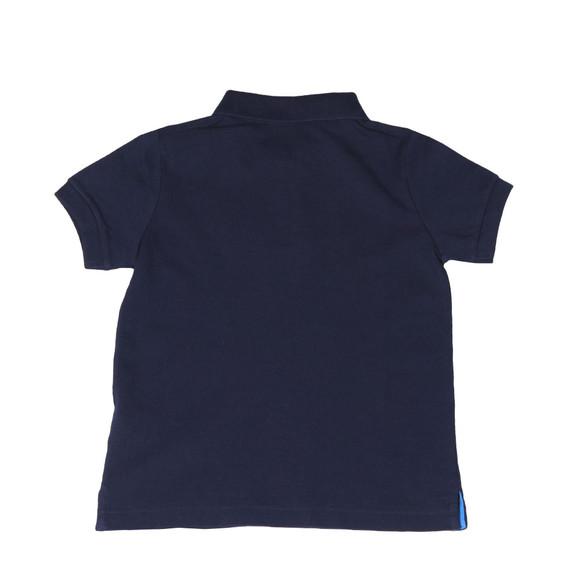 Hackett Boys Blue Boys Chest Print Polo Shirt main image