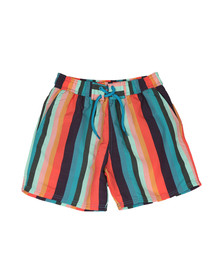 Paul Smith Junior Boys Multicoloured Multi Stripe Swim Shorts