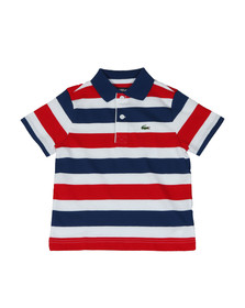 Lacoste Sport Boys Multicoloured Tricolour Polo Shirt