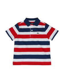 8537f4f5 Lacoste Sport Boys Multicoloured Tricolour Polo Shirt. Available in: