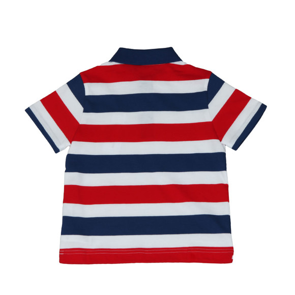 Lacoste Sport Boys Multicoloured Tricolour Polo Shirt main image