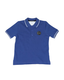 Boss Boys Blue J25Y70 Circle Logo Polo Shirt