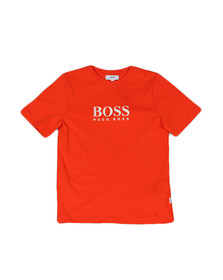 Boss Boys Orange Boys J25B87 Logo T Shirt
