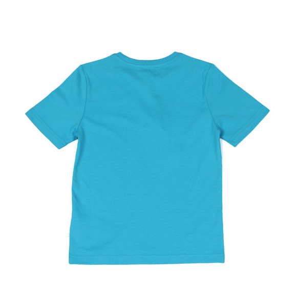 Boss Boys Blue Boys J25B87 Logo T Shirt main image