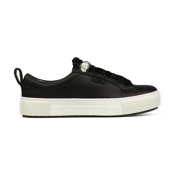 Karl Lagerfeld Womens Black Luxor Lace Shoe main image