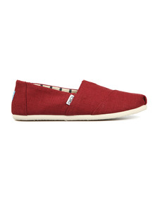 Toms Mens Red Heritage Canvas