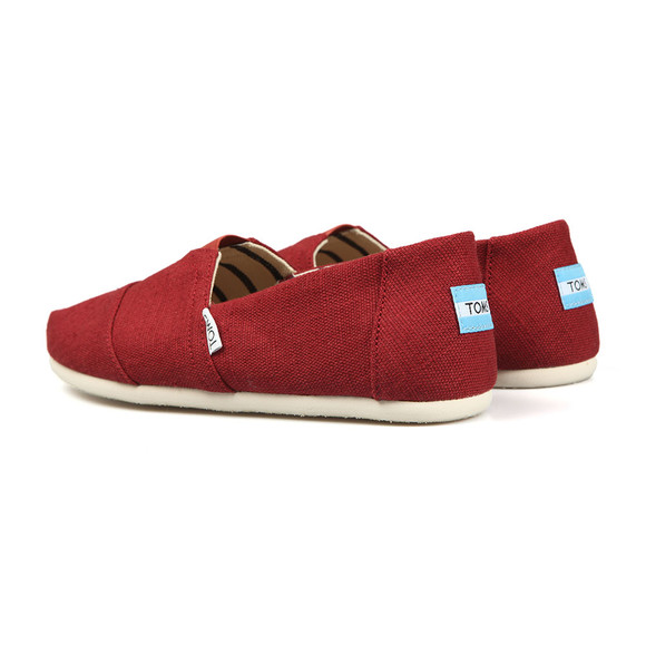 Toms Mens Red Heritage Canvas main image