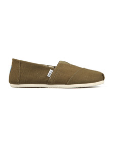 Toms Mens Green Heritage Canvas