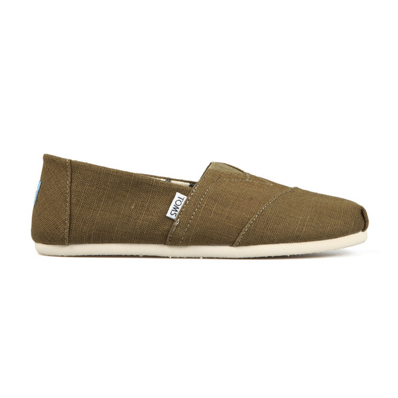 Toms Mens Green Heritage Canvas main image