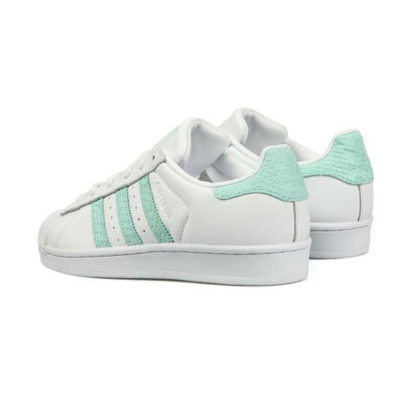 Adidas Originals Womens White Superstar W Trainer main image