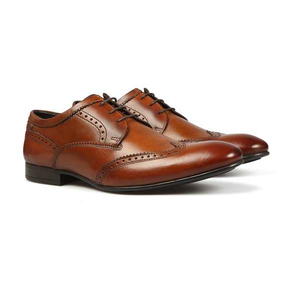 Base London Mens Brown Purcell Shoe main image