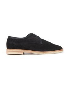 H By Hudson Mens Blue Agadir Suede Shoe