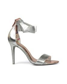 Ted Baker Womens Silver Saphrun Heel