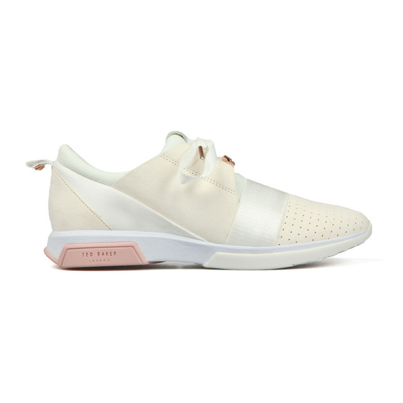 Ted Baker Womens White Cepas Trainer main image