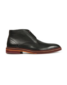 Ted Baker Mens Black Azzlan Leather Boots