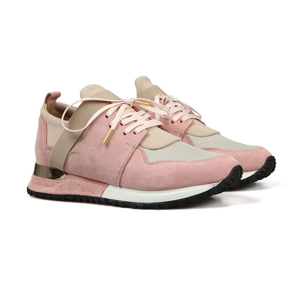Mallet. Womens Pink Elast Trainer main image