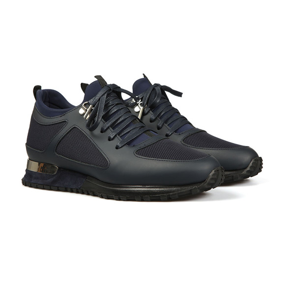 Mallet Mens Blue Diver Trainer main image