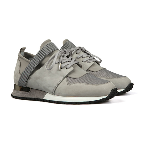 Mallet Mens Grey Elast Trainer main image