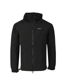HUF Mens Black Standard Shell Jacket