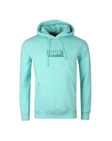 HUF Mens Green Bar Logo Pullover Hoody
