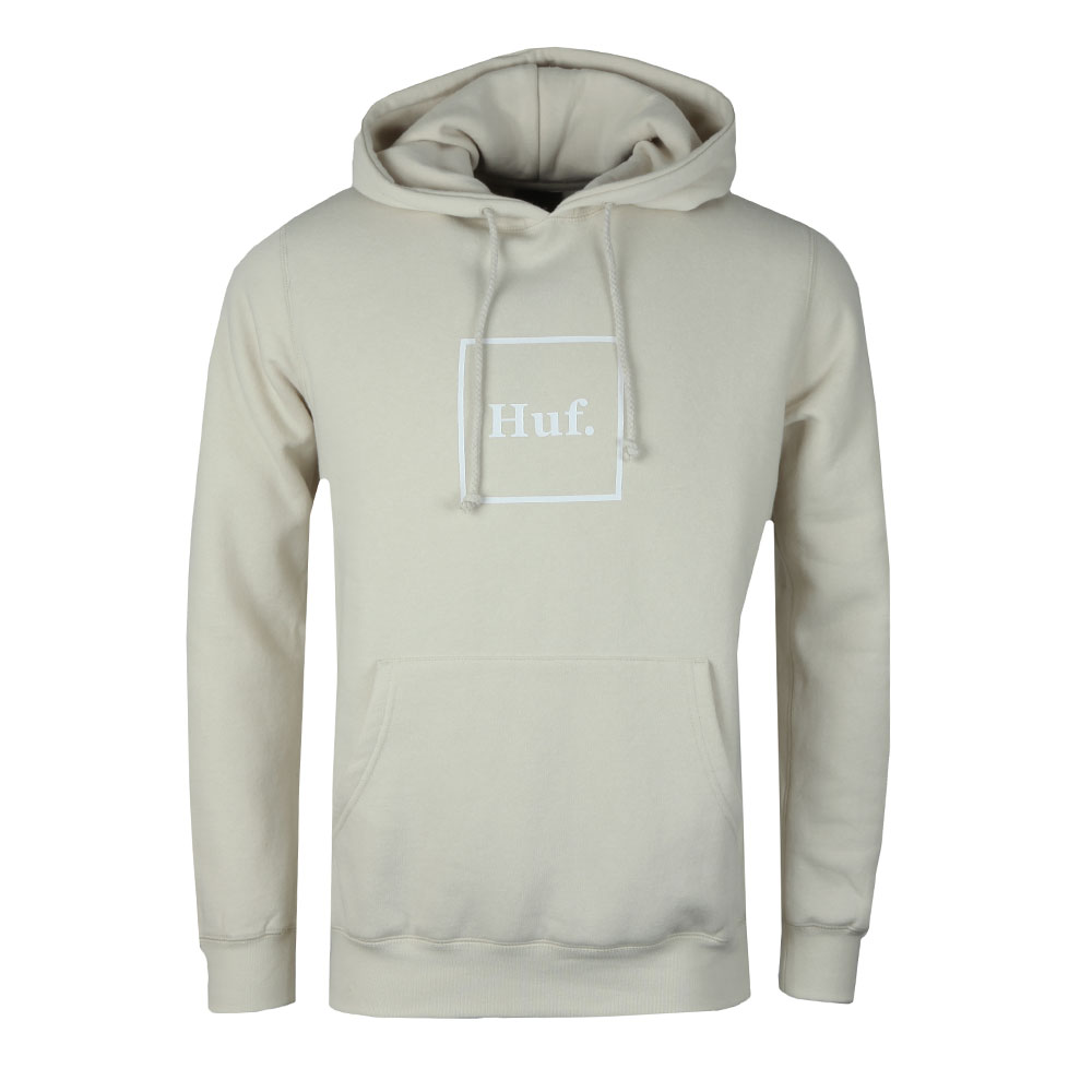 Outline Box Logo Overhead Hoody main image