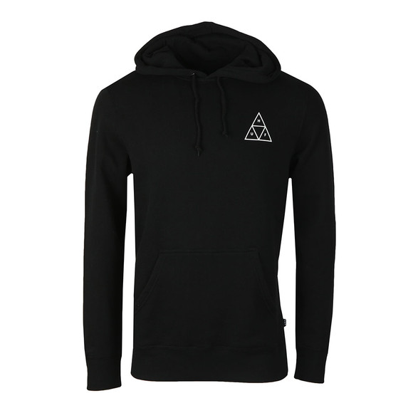 HUF Mens Black Triple Triangle Pullover Hoody main image