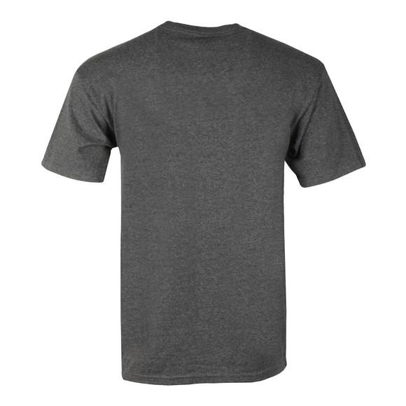 HUF Mens Grey OG Logo T Shirt main image