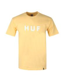 HUF Mens Pink OG Logo T Shirt