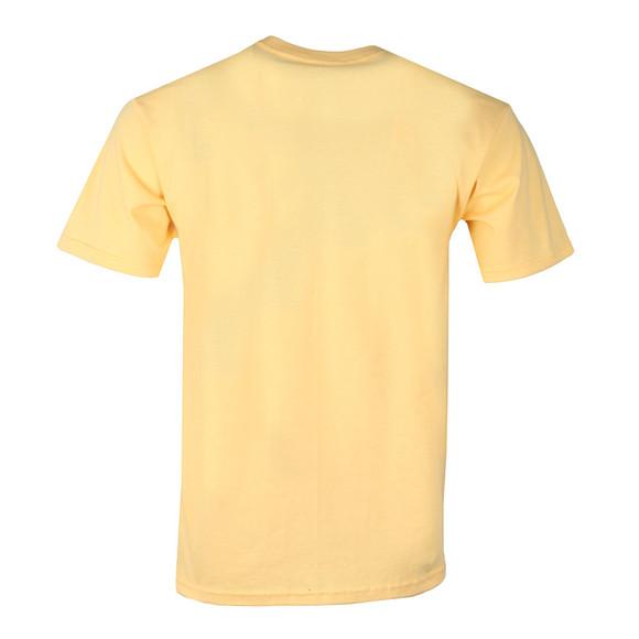 HUF Mens Pink OG Logo T Shirt main image