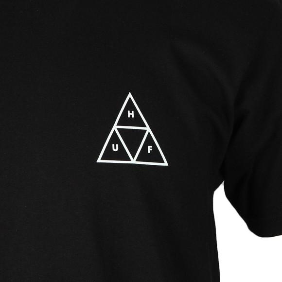 HUF Mens Black Triple Triangle T Shirt main image