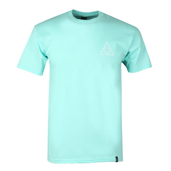 HUF Mens Green Triple Triangle T Shirt main image