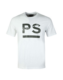 PS Paul Smith Mens White S/S PS Tee