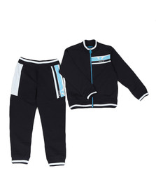 Armani Junior  Boys Blue 3Z4V02 Zip Tracksuit