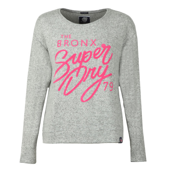 Superdry Womens Grey Beach Miami Top main image