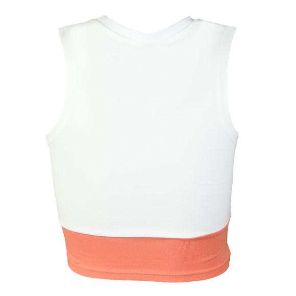 Ellesse Womens White Taralli Crop Vest main image