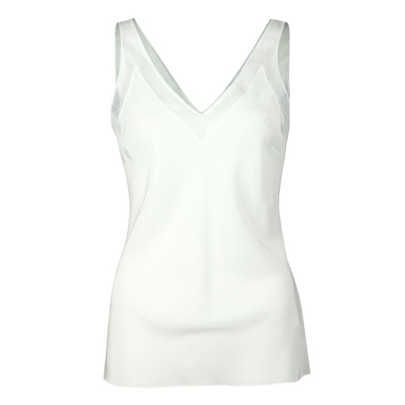 Ted Baker Womens Off-white Leiaa V Neck Trim Cami main image