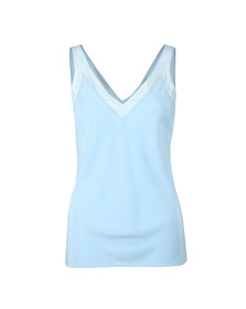 Ted Baker Womens Blue Leiaa V Neck Trim Cami