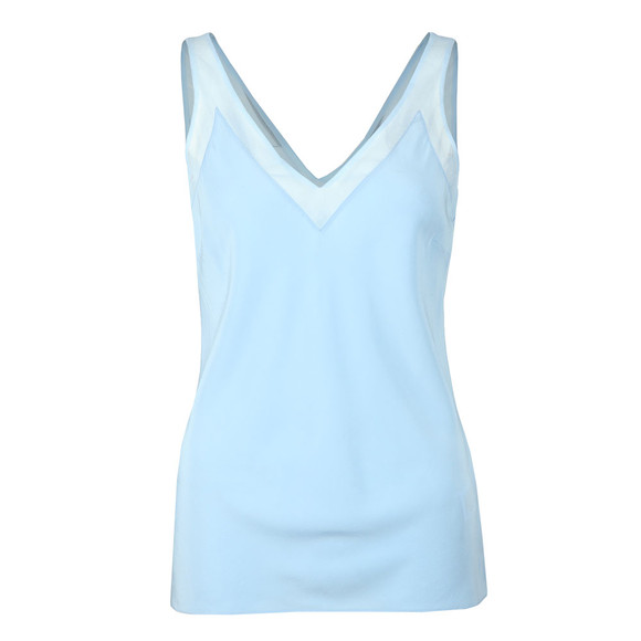 Ted Baker Womens Blue Leiaa V Neck Trim Cami main image