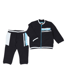 Armani Baby Boys Blue 3ZHV02 Zip Track Suit