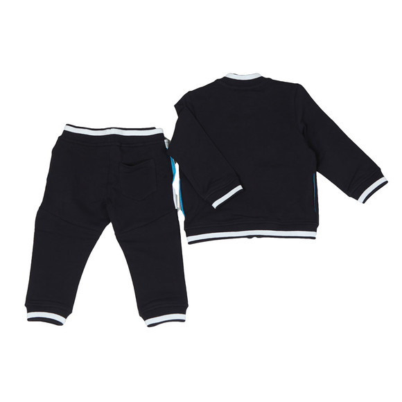 Armani Baby Boys Blue 3ZHV02 Zip Track Suit main image