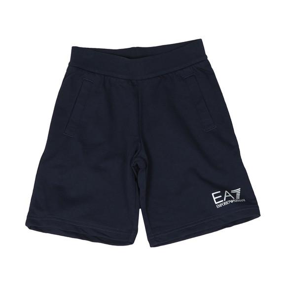 EA7 Emporio Armani Boys Blue Jersey Short main image