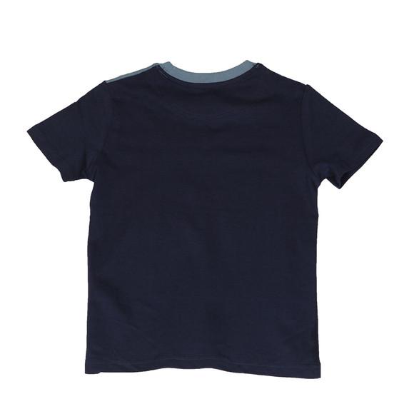 Lyle And Scott Junior Boys Blue Yoke T Shirt main image