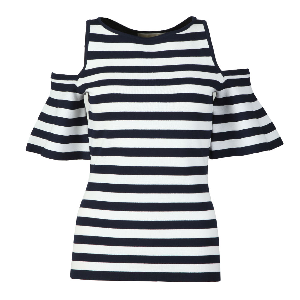 Striped Off Shoulder Top main image
