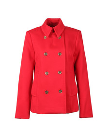 Michael Kors Womens Red Mod Peacoat
