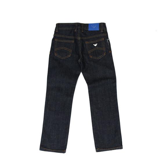 Armani Junior  Boys Blue Regular Fit  Jean main image