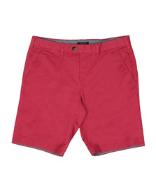 Ted Baker Mens Red Chino Short