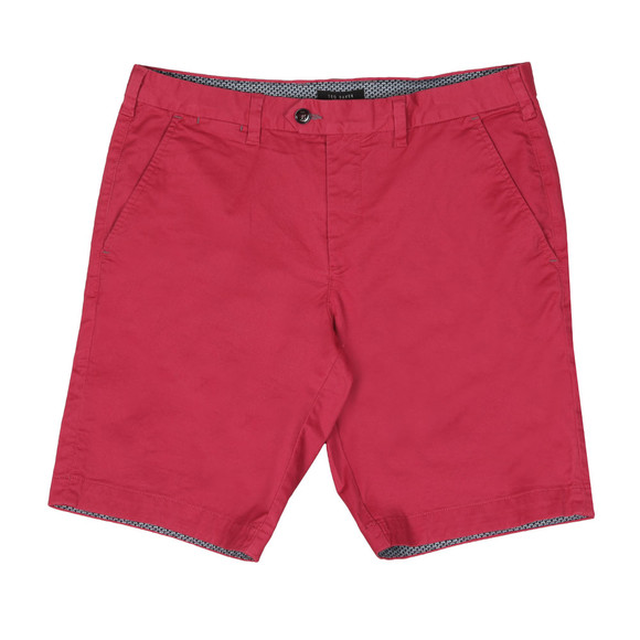 Ted Baker Mens Red Chino Short main image
