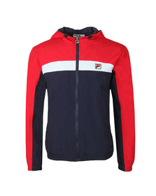 Fila Mens Blue Clipper Hooded Jacket
