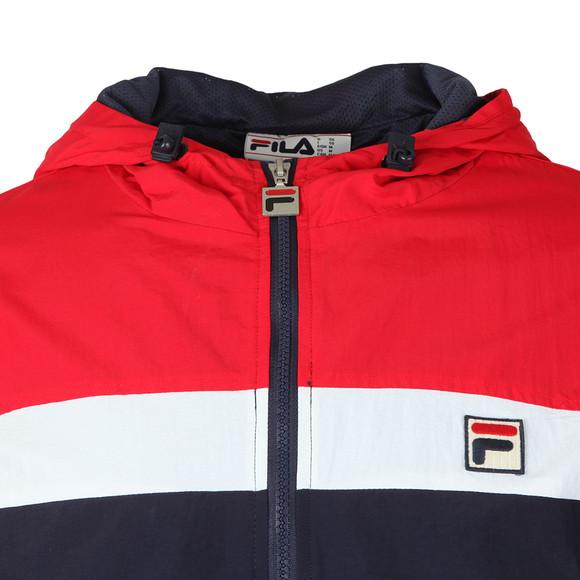 Fila Mens Blue Clipper Hooded Jacket main image